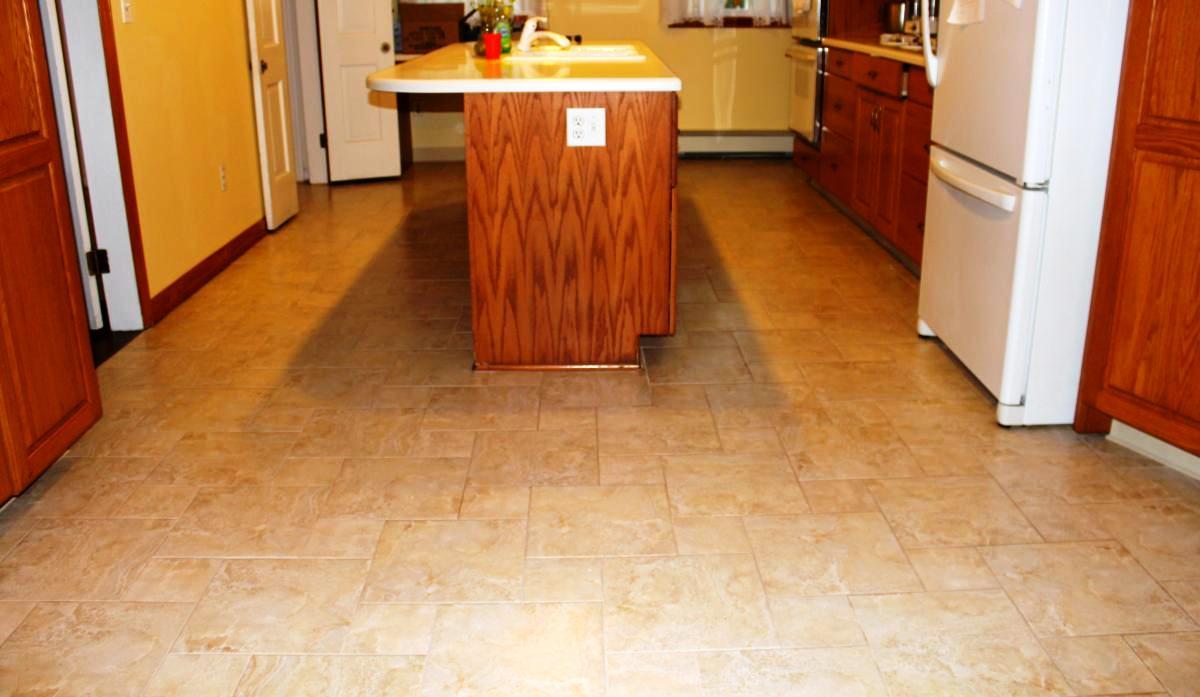Variations of Kitchen Floorings - Thar Marbles