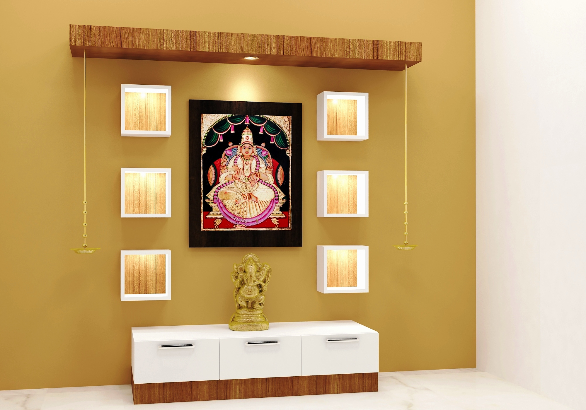 mandir designs in living room new buy wooden puja mandir for home